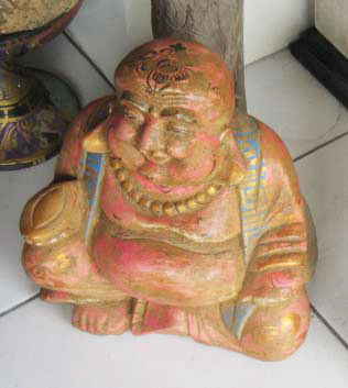 Happy Buddha. Size H36 cm. Price 6,85 usd. Order code CP040.