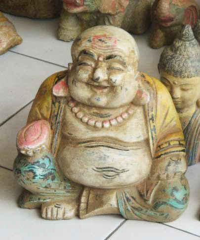 Happy Buddha. Size H36 cm. Price 6,85 usd. Order code CP041.