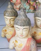 Buddha Torso in cement. Size H21, L14, W8 cm. Price FOB 3,20 usd excl packing. Order code CP081.