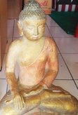 Buddha meditation. Size H 37 cm. Price FOB 8,95 usd excl packing. Art. code: CP090.