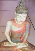 Buddha meditation. Size H30 cm. Price FOB 5,10 usd excl packing. Art. code: CP094.
