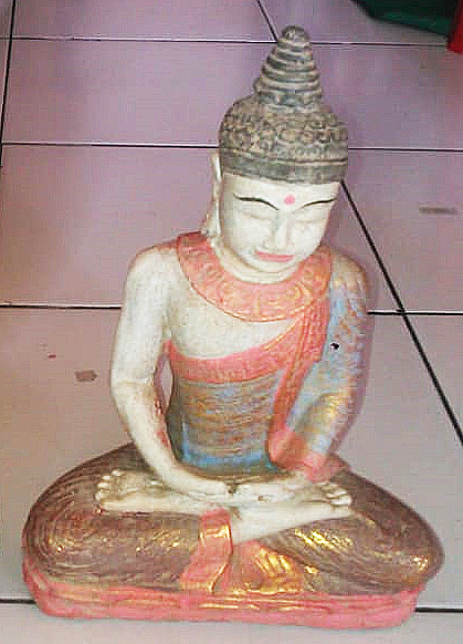 Buddha meditation. Size H30 cm. Price 5,40 usd excl packing. Art. code: CP094.