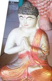 Buddha meditation. Size H26 cm. Price FOB 4,90 usd excl packing. Art. code: CP095.