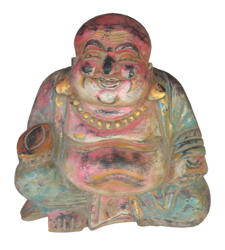 Happy Buddha. Size H36 cm. Price 6,85 usd. Order code CP039.