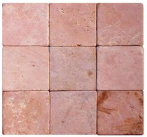 Parquet Mosaic 9.75 x 9.75cm Red Marble – Order code: PAM4-09A