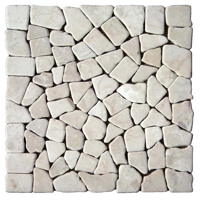 Puzzle Mosaic White Marble – Order code: PZM04A