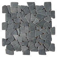 Puzzle Mosaic InterlockGrey Marble– Order code: PZMI-02-4side