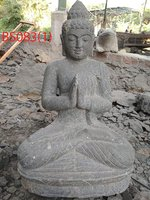Sitting Buddha Green stone. Art. code BS083. Size H75, L42, W30cm. Weight 83 kg. Price Exwork 50 usd, Price FOB 56,09 usd.