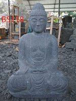 Sitting Buddha Japan Green stone. Art. code BS118. Size H100, L50, W60 cm. Weight 236 kg. Price Exwork 88 usd. Price FOB 105,21 usd.