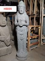 Standing Dewi Green stone. Art. code HS035. Size H 120, L20, W30cm. Weight 75 kg. Price Exwork 50 usd, Price FOB 56,48 usd.
