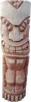 Tiki Coconut statue H 100cm, Diameter 25-27cm. Art. code TC006. Price FOB 26,50 usd.