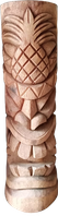 Tiki Coconut statue H 50cm, Diameter 25-27cm. Art. code TC017. Price FOB 14,75 usd.Tiki Coconut statue H 100cm, Diameter 25-27cm. Art. code TC018. Price FOB 25,25 usd.