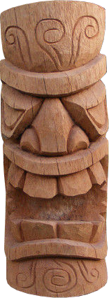 Tiki Coconut statue H 50cm, Diameter 25-27cm. Art. code TC001. Price FOB 14,00 usd.Tiki Coconut statue H 60cm, Diameter 25-27cm. Art. code TC007. Price FOB 17,50 usd.